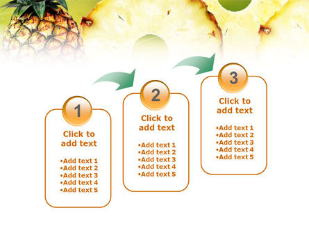 Pineapple PowerPoint Template Slide 14