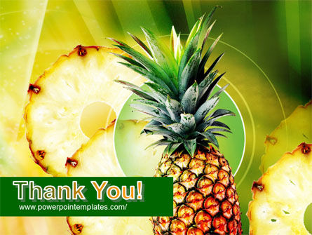 Pineapple PowerPoint Template Slide 20