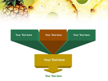 Pineapple PowerPoint Template, Slide 3, 01243, Food & Beverage — PoweredTemplate.com