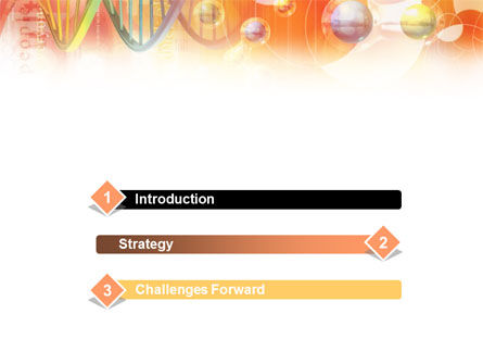 Molecular Science PowerPoint Template, Slide 3, 01247, Technology and Science — PoweredTemplate.com