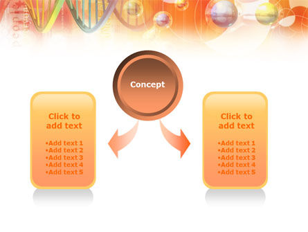Molecular Science PowerPoint Template, Slide 4, 01247, Technology and Science — PoweredTemplate.com