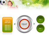 Heading the Ball PowerPoint Template#12