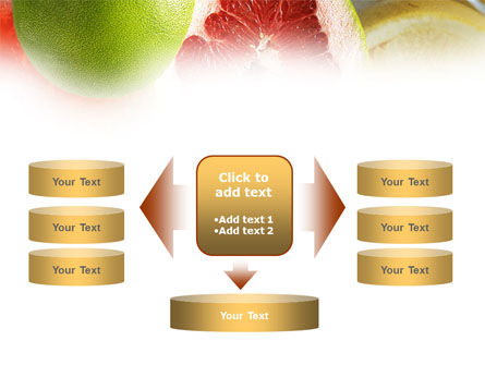 Citrus Fruits PowerPoint Template Slide 13
