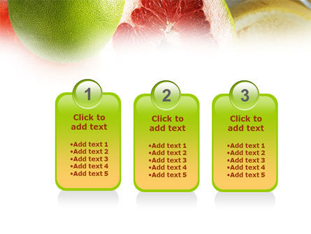 Citrus Fruits PowerPoint Template Slide 16