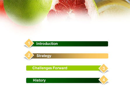 Citrus Fruits PowerPoint Template Slide 3