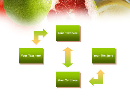 Citrus Fruits PowerPoint Template Slide 4