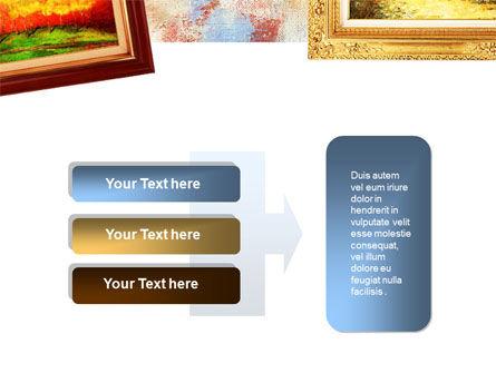 Framed Paintings PowerPoint Template Slide 11