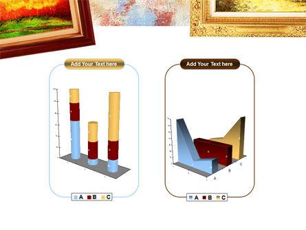 Framed Paintings PowerPoint Template Slide 13
