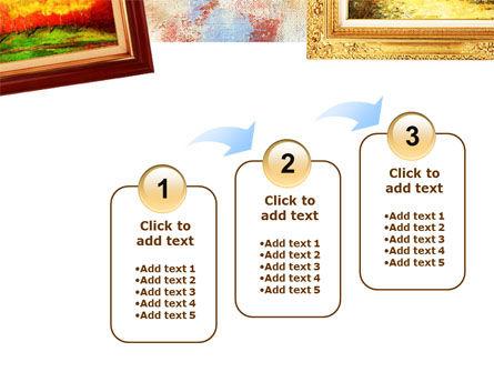 Framed Paintings PowerPoint Template Slide 14