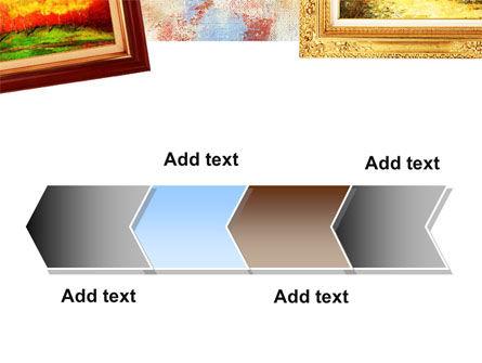 Framed Paintings PowerPoint Template Slide 16