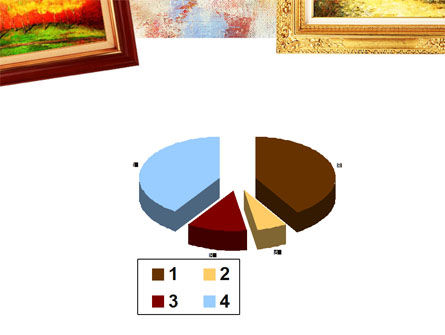 Framed Paintings PowerPoint Template Slide 17