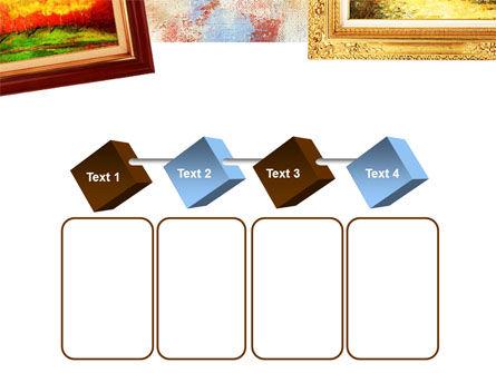 Framed Paintings PowerPoint Template Slide 18