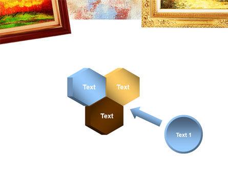 Framed Paintings PowerPoint Template Slide 19