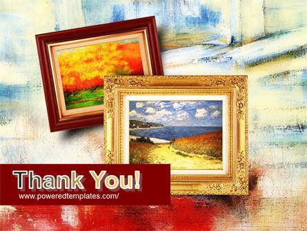 Framed Paintings PowerPoint Template Slide 20