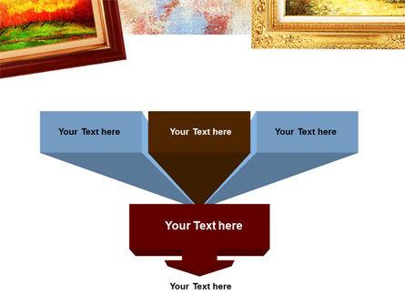 Framed Paintings PowerPoint Template Slide 3