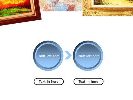 Framed Paintings PowerPoint Template Slide 5