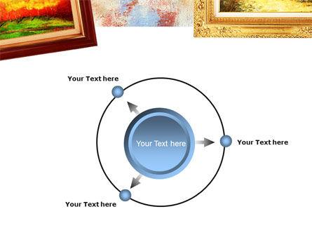 Framed Paintings PowerPoint Template Slide 7