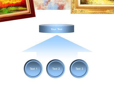 Framed Paintings PowerPoint Template Slide 8