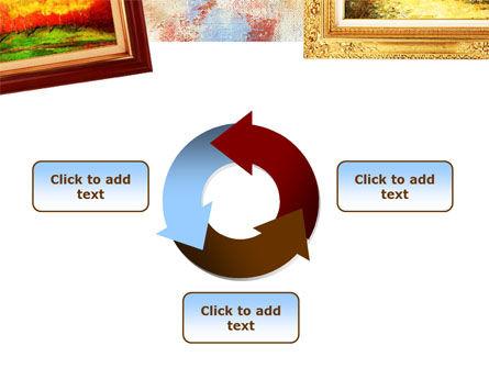 Framed Paintings PowerPoint Template Slide 9