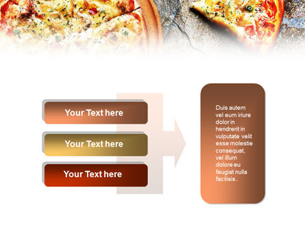 Hot Pizza PowerPoint Template Slide 11