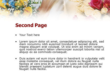 Asian Wedding PowerPoint Template, Slide 2, 01259, Holiday/Special Occasion — PoweredTemplate.com