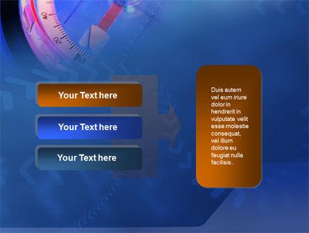 Hand Compass PowerPoint Template Slide 11