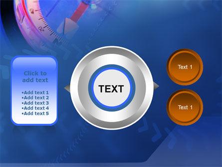 Hand Compass PowerPoint Template Slide 12