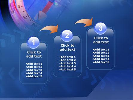Hand Compass PowerPoint Template Slide 14