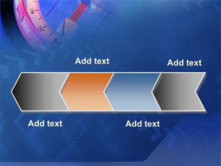 Hand Compass PowerPoint Template Slide 16