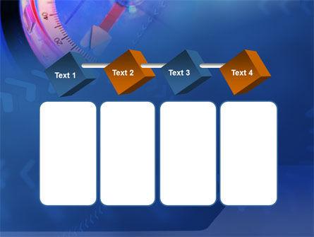 Hand Compass PowerPoint Template Slide 18