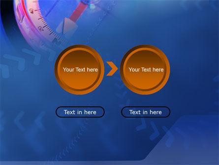 Hand Compass PowerPoint Template Slide 5