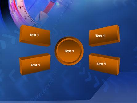 Hand Compass PowerPoint Template Slide 6