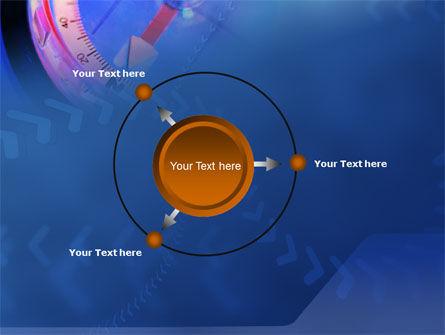Hand Compass PowerPoint Template Slide 7