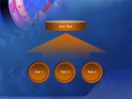 Hand Compass PowerPoint Template Slide 8
