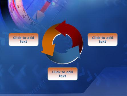 Hand Compass PowerPoint Template Slide 9