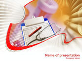 Medical: Medical Card PowerPoint Template #01263