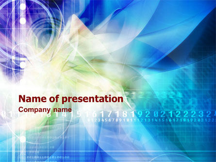 Internet Web Technology PowerPoint Template
