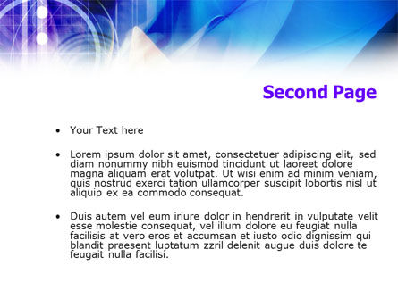 Internet Web Technology PowerPoint Template Slide 2