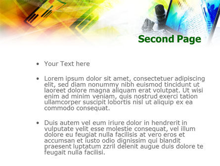 Mobile Laptop PowerPoint Template Slide 2