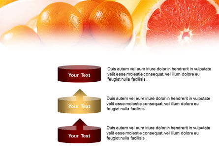 Grapefruit PowerPoint Template Slide 10