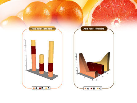 Grapefruit PowerPoint Template Slide 13