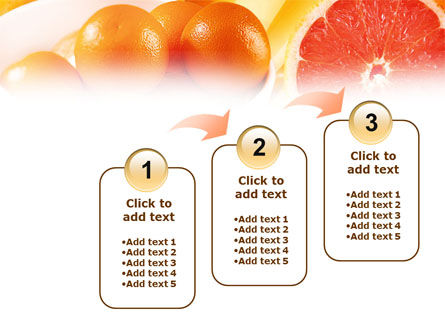Grapefruit PowerPoint Template Slide 14