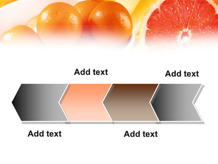 Grapefruit PowerPoint Template Slide 16