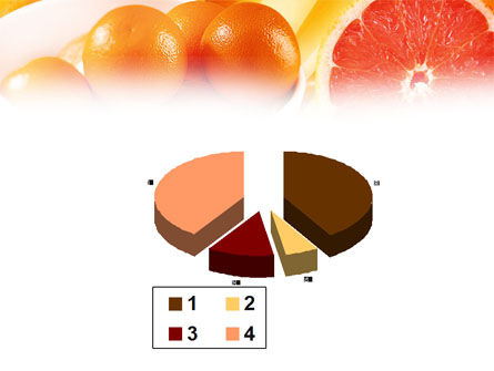 Grapefruit PowerPoint Template Slide 17