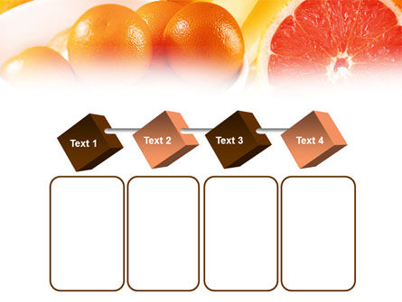 Grapefruit PowerPoint Template Slide 18