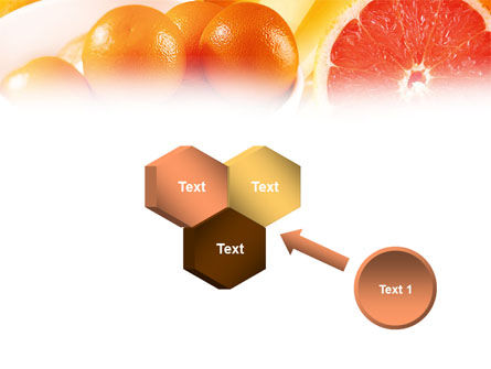 Grapefruit PowerPoint Template Slide 19
