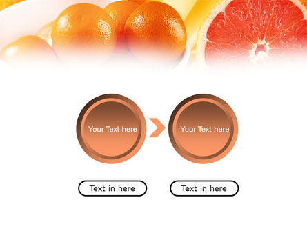 Grapefruit PowerPoint Template Slide 5