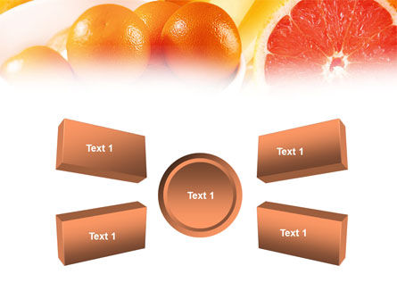 Grapefruit PowerPoint Template Slide 6