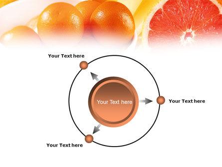 Grapefruit PowerPoint Template Slide 7