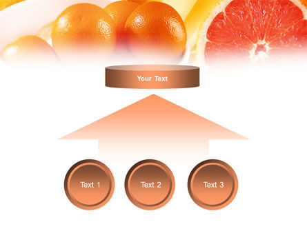Grapefruit PowerPoint Template Slide 8